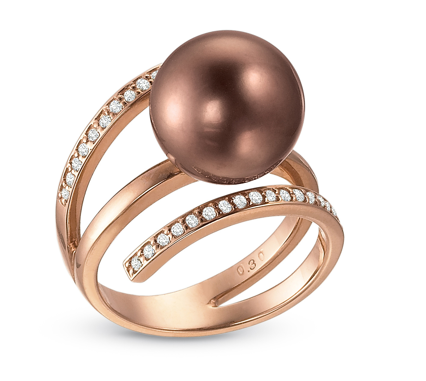 Rose Gold Pearl Ring_075